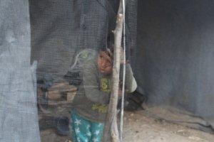 Barna i Moria kan gå i flere år uten noen form for pedagogisk aktivitet Foto: Kristina Quintano