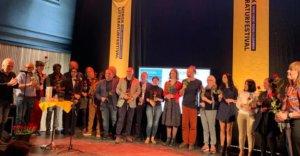 Forfattere og oversettere samlet til lansering på Lillehammer